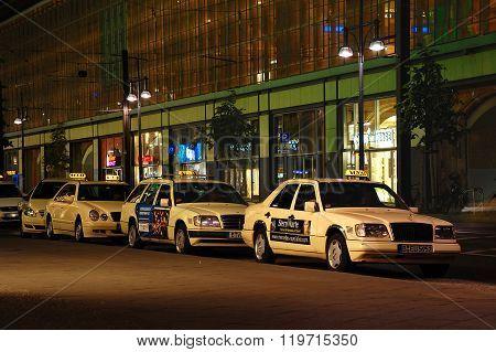 Cabstand In Berlin