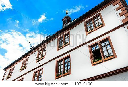 Town Hall in Lohr am Main, Germany
