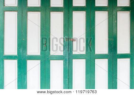 Grunge Folding Door