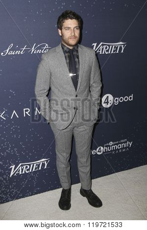 LOS ANGELES - FEB 25:  Adam Pally at the 3rd Annual unite4:humanity at the Montage Hotel on February 25, 2016 in Beverly Hills, CA