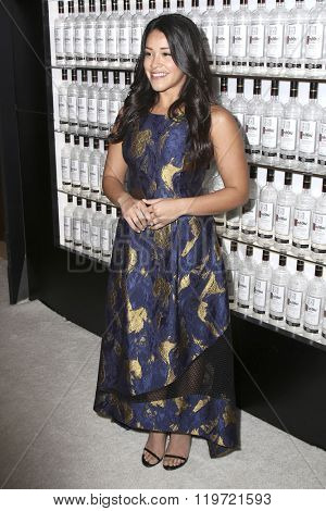 LOS ANGELES - FEB 25:  Gina Rodriguez at the 3rd Annual unite4:humanity at the Montage Hotel on February 25, 2016 in Beverly Hills, CA