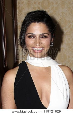 LOS ANGELES - FEB 25:  Camila Alves McConaughey at the 3rd Annual unite4:humanity at the Montage Hotel on February 25, 2016 in Beverly Hills, CA