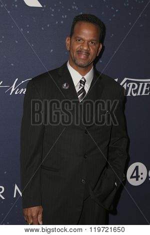 LOS ANGELES - FEB 25:  Andre Reed at the 3rd Annual unite4:humanity at the Montage Hotel on February 25, 2016 in Beverly Hills, CA