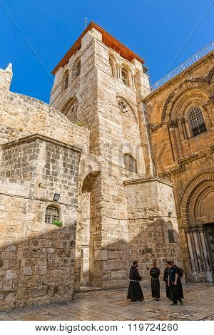Bell Tower - Church of the Holy Sepulchre