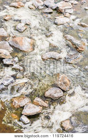 Rill Of Hot spring