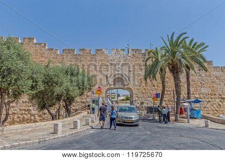 Dung Gate Jerusalem