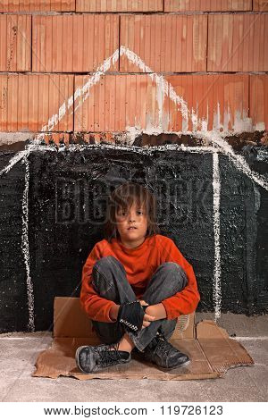 Young Homeless Boy