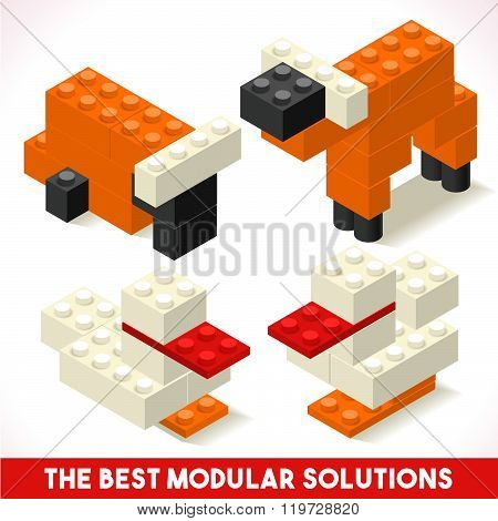 Toy Block Farm 01 Games Isometric
