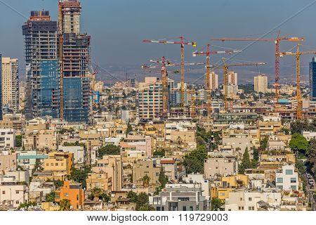 Tel Aviv building site