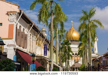 Grand View Of Sultan Mosque