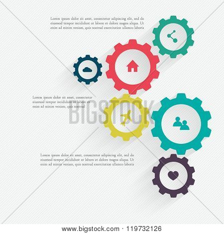 Business Mechanism Concept.