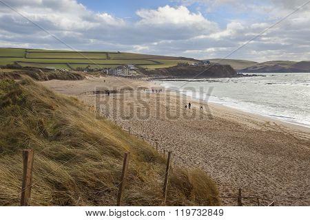 Thurlestone Bay, Devon, England