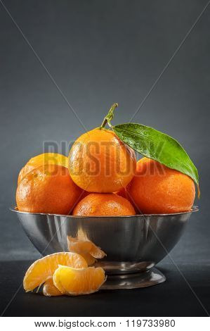 Clementines In Bowl