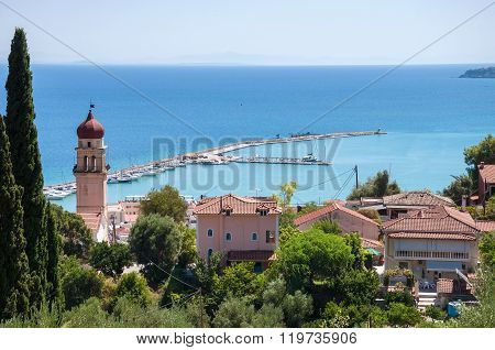 View Of Port In Zante Town
