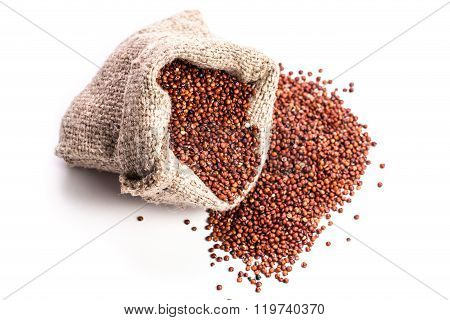 Heap Of Quinoa, Healthy Vegan Food Concept