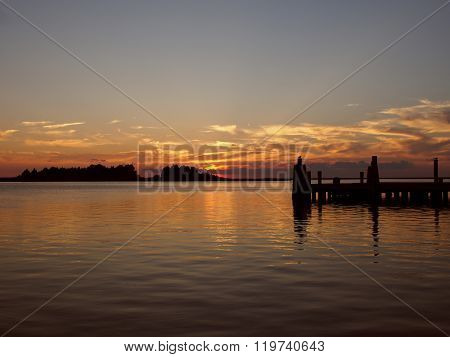 Crisfield at Sunset