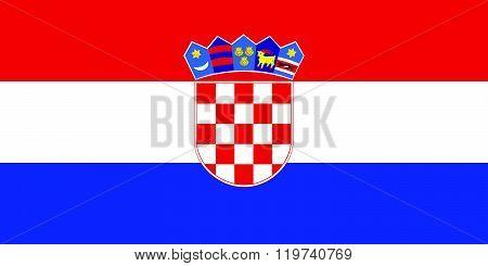 Croatian flag.