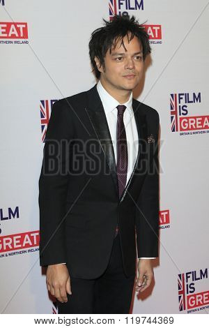 LOS ANGELES - FEB 26:  Jamie Cullum at the The Film is GREAT Reception Honoring British 2016 Oscar Nominees at the Fig and Olive on February 26, 2016 in West Hollywood, CA