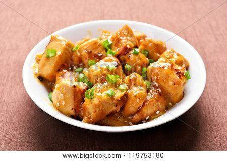 Chicken In Orange Sauce