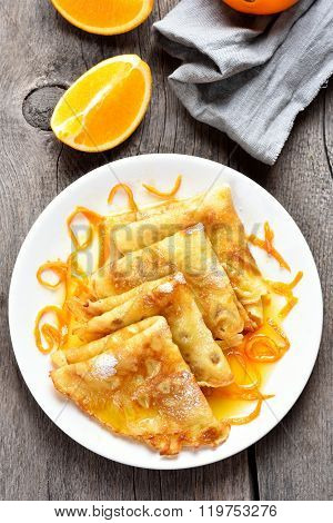 Crepes, Top View