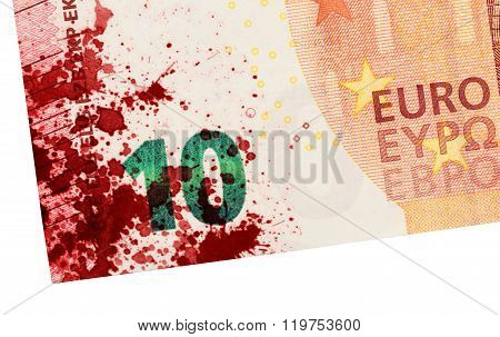 New Ten Euro Banknote, Close-up
