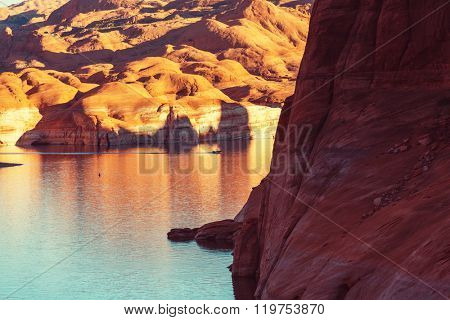 Lake Powell, Alstrom point, USA