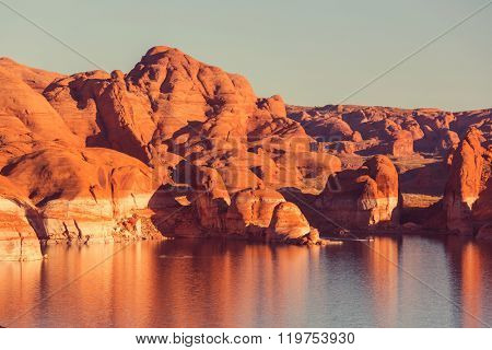Lake Powell, Alstrom point, USA