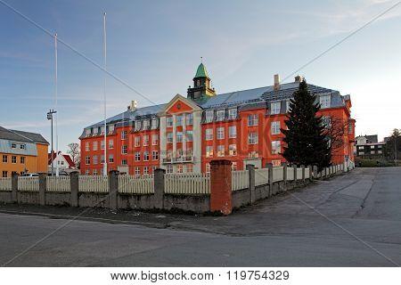 Kongsbakken Upper Secondary School In Tromso