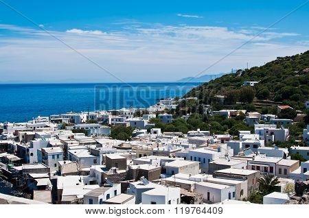 View Of Mandraki Village On Nisyros