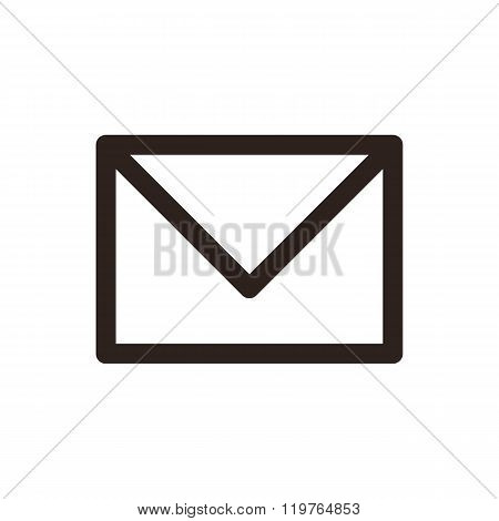 Mail Icon. Envelope Sign