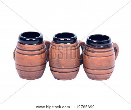 Decorative beer mugs