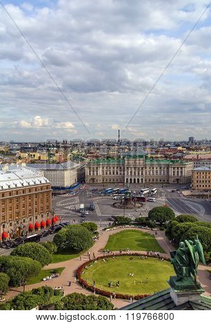 View Saint Isaac Square, Saint Petersburg