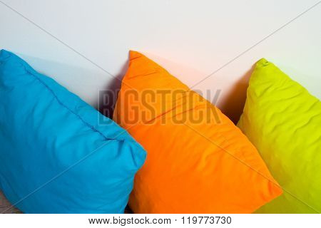 Pillows On Floor