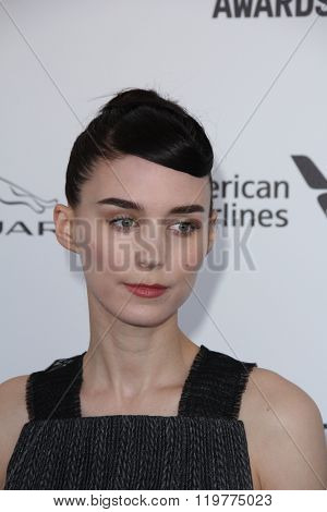 LOS ANGELES - FEB 27:  Rooney Mara at the 2016 Film Independent Spirit Awards at the Santa Monica Beach on February 27, 2016 in Santa Monica, CA