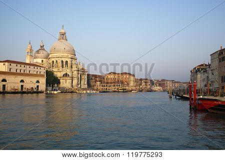 Grand Canal and Basilica