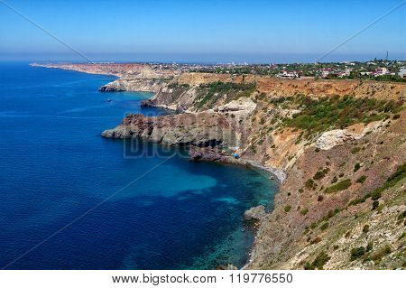 Sunny View Of The Black Sea