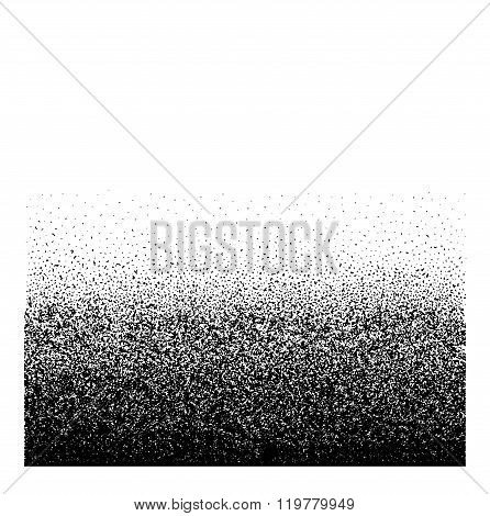 Distress Overlay Texture For Your Design. Grainy gradient background