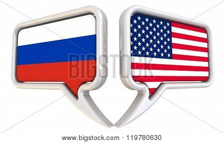 The dialog between the Russian Federation and the United States of America