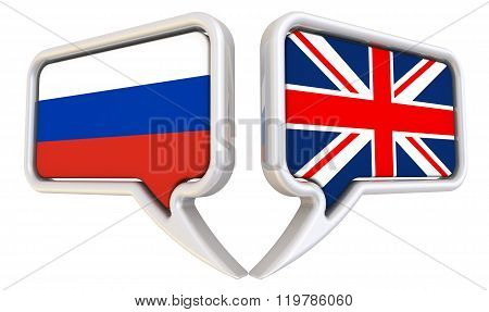The dialogue between the Russian Federation and the United Kingdom