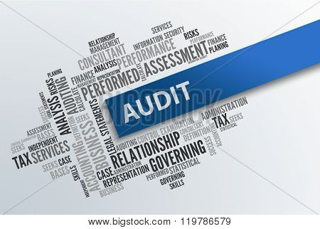 AUDIT | Business Abstract Concept