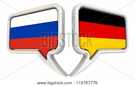The dialog between the Russian Federation and Germany
