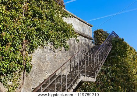 Stairs in Palace of Ambras (Schloss Ambras) - Innsbruck Austria