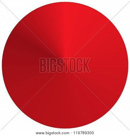Red Circular Round Gradient