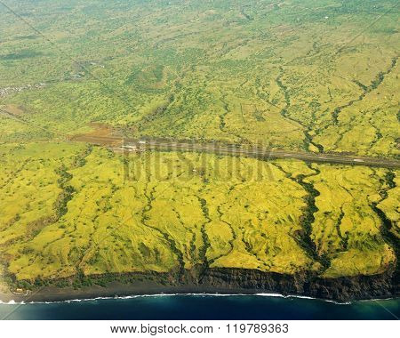 Airport Runway In Fogo
