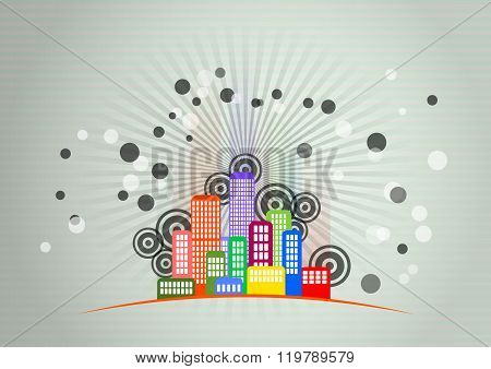 City Skyline Graphic