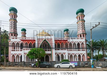 Traditional Mosque In South Thailand