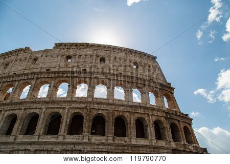 Ancient Colosseum View