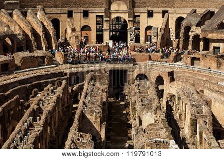Inside Colosseum View