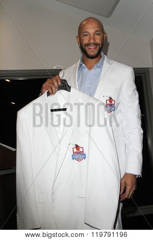 Stephen Bishop at the inaugural Stephen Bishop celebrity golf invitational benefiting R.A.K.E. on Feb. 15, 2016 at Calabasas Country Club in Calabasas, CA.