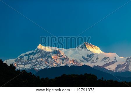 Mountains Inspirational Landscape View, Himalayas